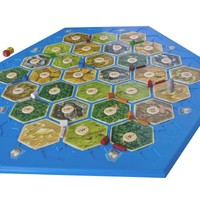 Official Settlers of Catan Board - Plastic 5-6/3-4 Player
