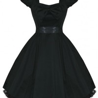 Darling Bow [Black] | DRESS