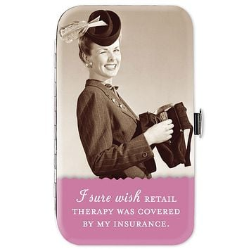 I Sure Wish Retail Therapy Was Covered By My Insurance Manicure Kit