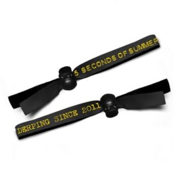 5SOS: Derping Stamp Wristband