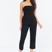 Silence   Noise Knit Strapless Jumpsuit