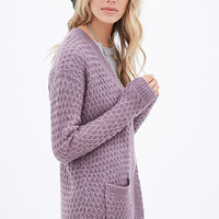 Slouchy Open-Knit Cardigan