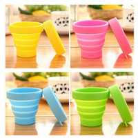 Silicone Retractable Telescopic Travel Mug