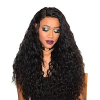 Water Wave Hair Lace Front Wig