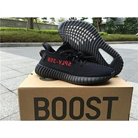 Adidas Yeezy 350 Boost V2 Black Red 36-46