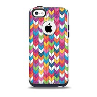 The Color Knitted Skin for the iPhone 5c OtterBox Commuter Case