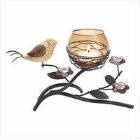 Modern Home Decor Ideas Partridge Nest Tealight Holder