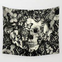 Victorian Gothic Wall Tapestry by Kristy Patterson Design