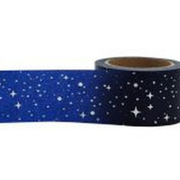 Star & Sky Washi Tape, Paper Tape, Planner Tape, Gift Wrap, Craft Tape, Embellishment, Japanese Tape, Planner Decoration, Packaging