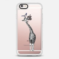 Pigeon and Giraffe iPhone 6s case by dejaliyah | Casetify