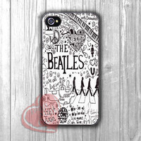 beatles song collage-11nya for iPhone 6S case, iPhone 5s case, iPhone 6 case, iPhone 4S, Samsung S6 Edge