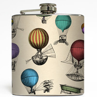 Air Race by Cognitive Surplus - Hot Air Balloon Flask