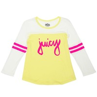 Juicy Stripes Graphic Tee by Juicy Couture