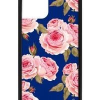 Navy Floral iPhone 11 Pro Case