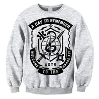 A Day To Remember: Snake Pit (Ash Grey) Crew Neck Sweatshirt