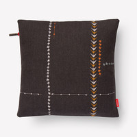 Borders Pillow 004 Walnut