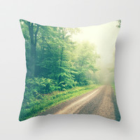 The First Step is the Dream Throw Pillow by Olivia Joy StClaire