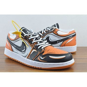 Nike Air  Jordan 1 Low  Bags Discount Women's Men's 2020 New Fashion Casual Shoes Sneaker Sport Running Shoes