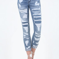 REPAIR HEARTBREAKER JEANS