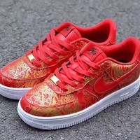 "Nike Air Force 1""Chinese New Year"" Basketball Sneaker"