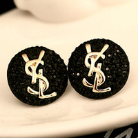 YSL fashion small fresh artistic ear row earrings with body earrings popular accessories