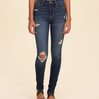 Girls Hollister High-Rise Super Skinny Jeans | Girls Bottoms | HollisterCo.com