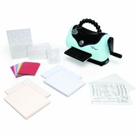 Sizzix Texture Boutique Embossing Machine Beginner's Kit   AihaZone Store