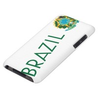 Brazil and Coat of Arms Barely There iPod Cover