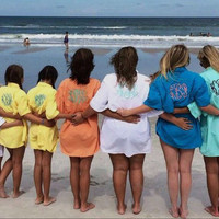 Monogrammed Fishing Shirt - Great for swimsuit cover ups