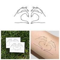 Come Together - Temporary Tattoo (Set of 2)