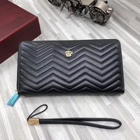 2019 New Office VERSACE men Leather Monogram Handbag Neverfull Bags Tote Shoulder Bag Wallet Purse Bumbag    Discount Cheap Bags Best Quality