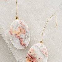 Sunset Field Earrings by Anthropologie in Peach Size: One Size Earrings