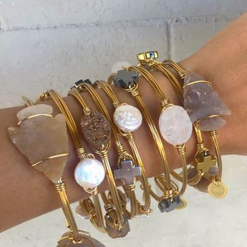 Coin Pearl Bracelet- Tangled Jewelry