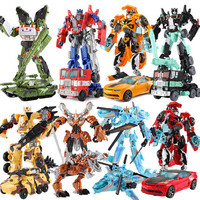 With Package 8 styles Transformation Robot Cars Autobots and prime Toys Action Figures Classic Toys For Kids Christmas Gifts