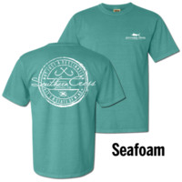 Fishing Stamp in Seafoam Comfort Colors™ - CLOSEOUT