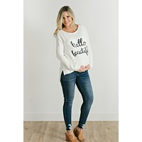 Leslie Maternity Ankle Jeans