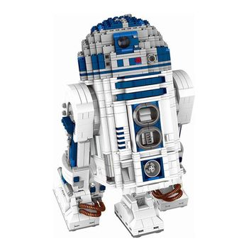 Star Wars Force Episode 1 2 3 4 5 LEPIN 05043  Series The LegoINGlys 10225 R2D2 Robot Set Building Blocks Bricks Toys  birthday christmas gifts AT_72_6