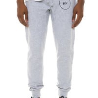 "ROBERTO VINCENZO ""RV Joggers"" (sweatpants) in Heather Gray"