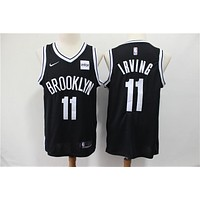 2019-2020 Brooklyn Nets 11 Kyrie Irving Black Basketball Jersey