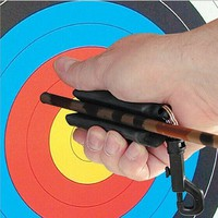 Outdoor Archery Arrow Puller Target Hunting Bow Shooting Remover Recurve Compound Silicon Gel Keychain