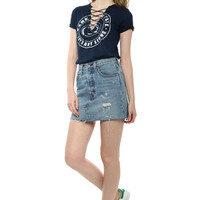 Retro Brand Penn State Lace Up Tee