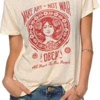 Obey Make Art Not War 2 Back Alley T-Shirt