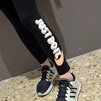 NIKE Originals adicolor Trefoil Leggings In Black