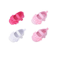 Pretty Princess Style Baby First Walker Shoes Baby Girl Soft Sole Crib Shoes Toddler Sneaker Baby Shoes