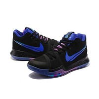 Men 's Basketball Shoes Kyrie Irving 3 Fashion Dream Black Sports Running Shoes | Best Deal Online