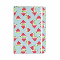 "afe images ""Watermelon Slices Pattern"" Red Blue Illustration Everything Notebook"