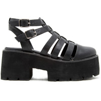 Caged Super Platform Sandal