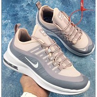 Nike Air Max Axis Fashion New Hook Print Women Running Sports Leisure Shoes Gray