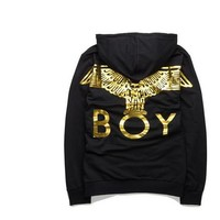 Spring Autumn Boy London Printed Men hoodie Sweatshirt Eagle Hip Hop Casual Hoodies Brand Streetwear Rock Pullover Tops