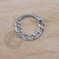 Chain Steel Septum Clicker